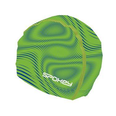 čepice plavecká Spokey TRACE zelená