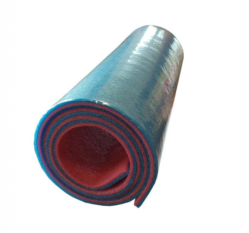 karimatka dvouvrstvá 10mm modro/červená