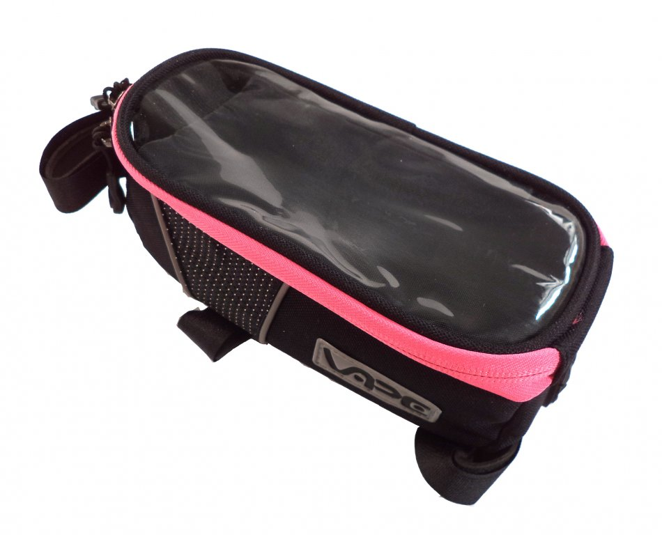 brašna Vape SMB přední na mobil XL neon růžový zip