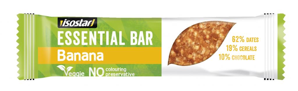 tyčinka ISOSTAR Bar Essential banán 35g