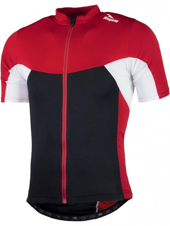 dres krátký dětský Rogelli RECCO 2.0 černo/červený, 116
