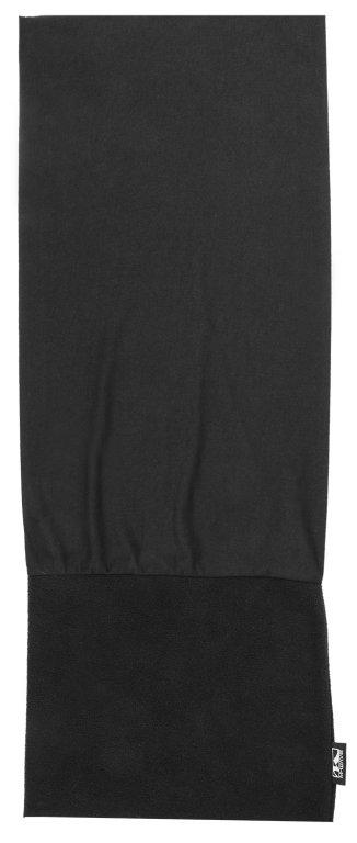 šátek M-WAVE Fleece černý