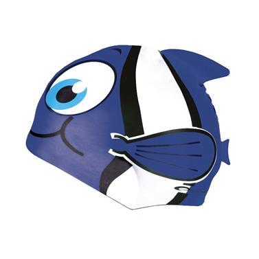 čepice plavecká dětská Spokey RYBKA modrá