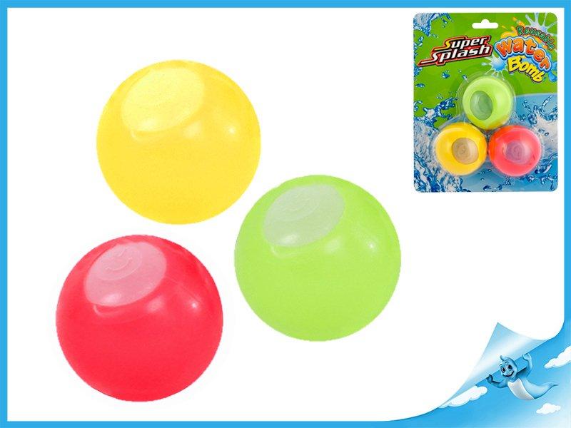 vodní bomby znovupoužitelné 3ks