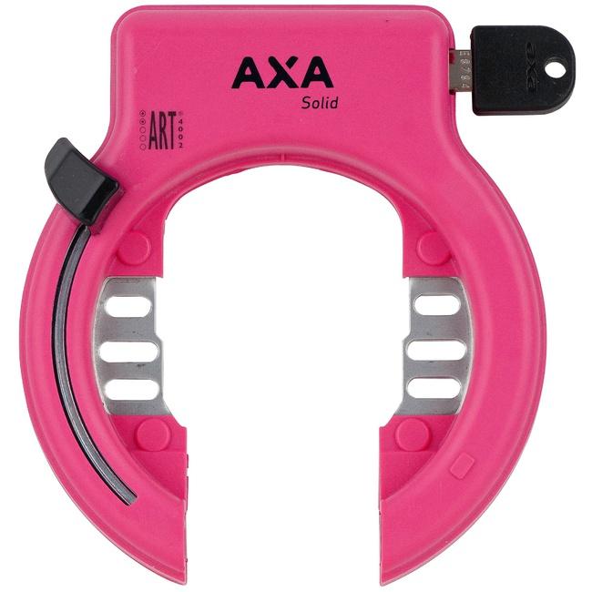zámek AXA Solid růžový