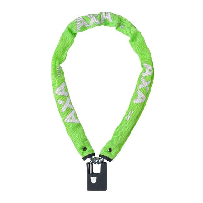zámek AXA Clinch+ 85x6mm zelený