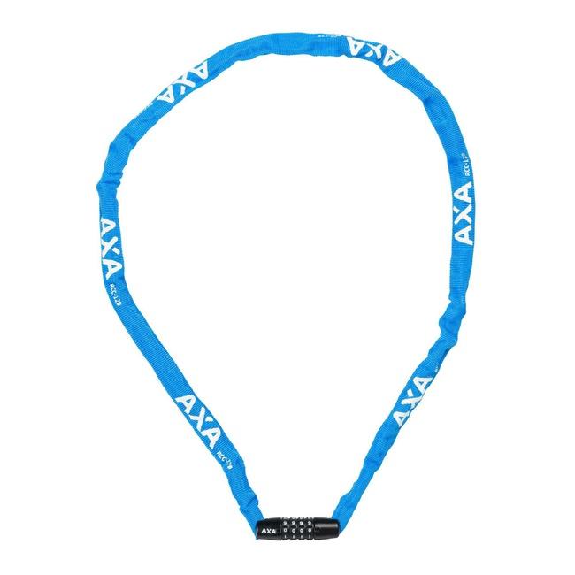 zámek AXA Rigid RCC 120x3,5mm kód modrý
