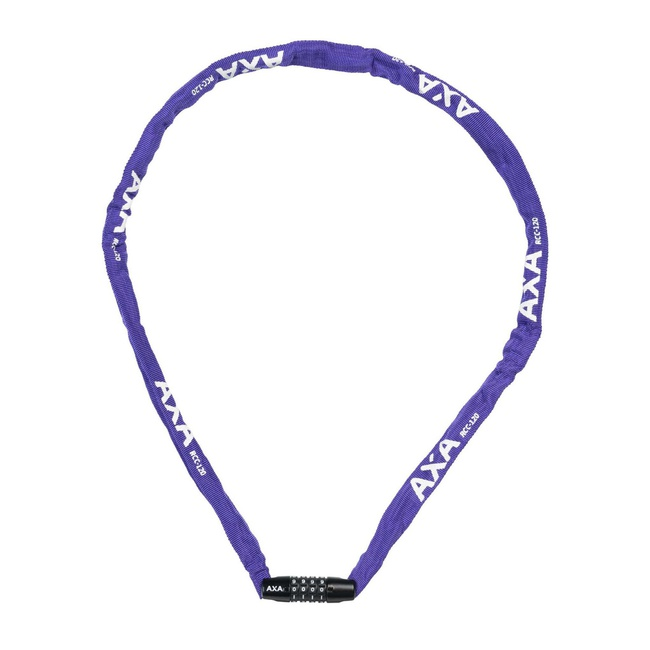 Zámek AXA Rigid RCC 120x3, 5mm kód fialový