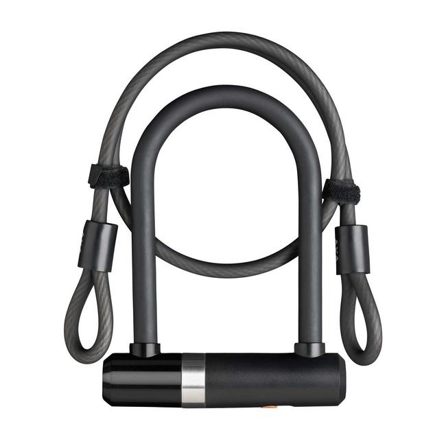 Zámek AXA Newton UL Mini 150x14mm + kabel 100x8mm
