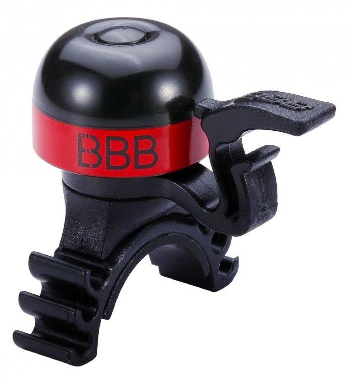 Zvonek BBB MiniFit červený