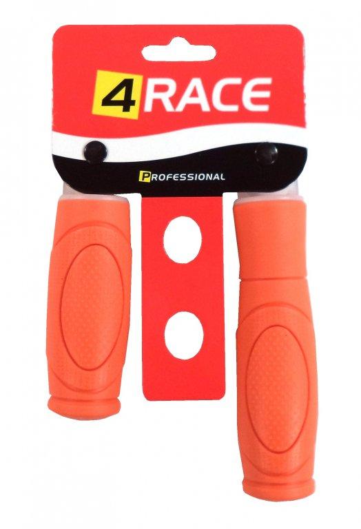 gripy 4RACE 125+92mm oranžové