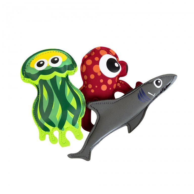 hračky pro potápění - žralok, chobotnice, medůza