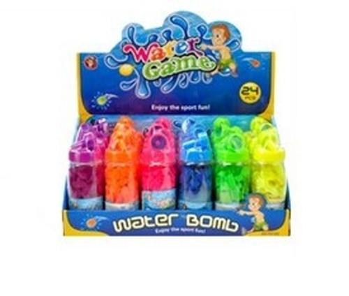 vodní bomby s plničkou 60ks