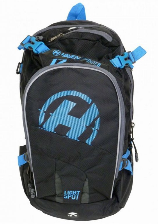 batoh HAVEN LUMINITE II 12l černo/modrý bez rezervoáru