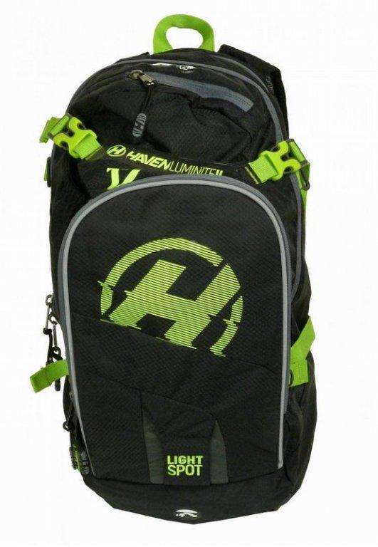 batoh HAVEN LUMINITE II 12l černo/zelený bez rezervoáru