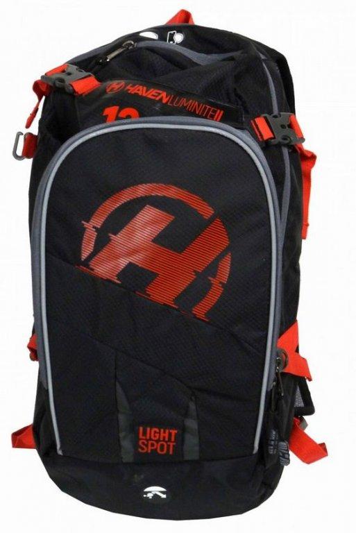 batoh HAVEN LUMINITE II 18l černo/červený bez rezervoáru