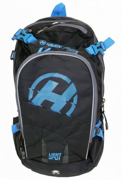 batoh HAVEN LUMINITE II 18l černo/modrý bez rezervoáru