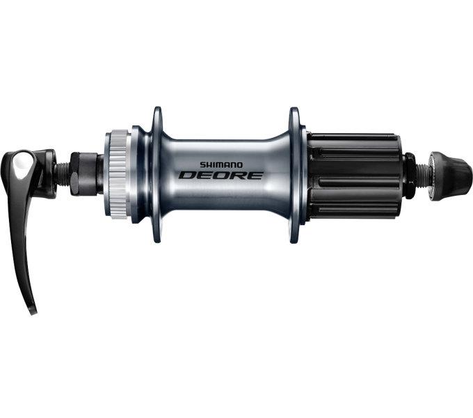 Náboj Shimano FH-M6000 zadní 36d 8,9,10r stříbrný