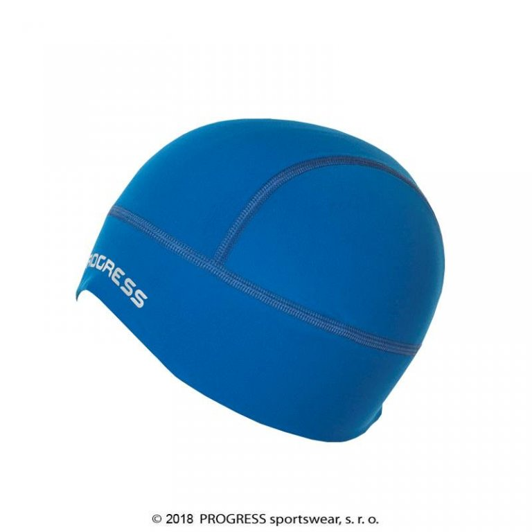 čepice Progress XC CEP zateplená modrá