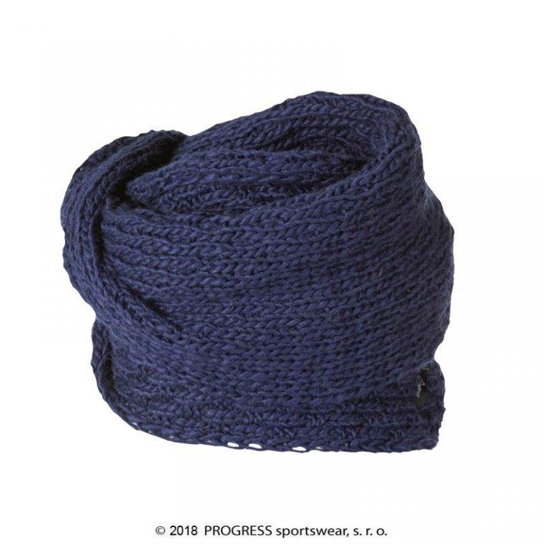 šála Progress LINA pletená modrá