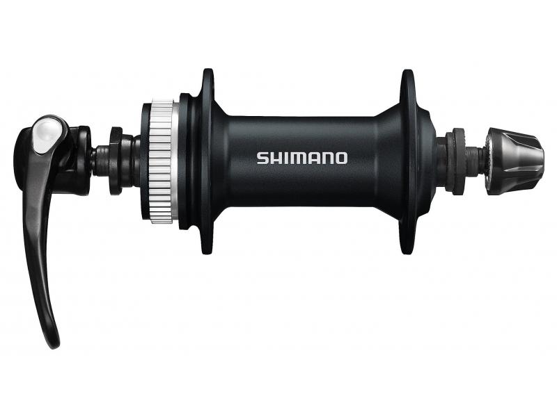 náboj Shimano FH-RM66 přední 36d černý servisní balení