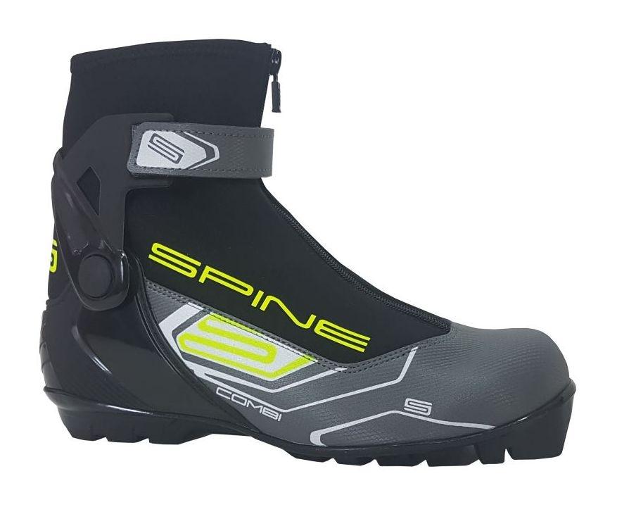 boty na běžky SKOL SPINE RS Concept COMBI šedé, 41