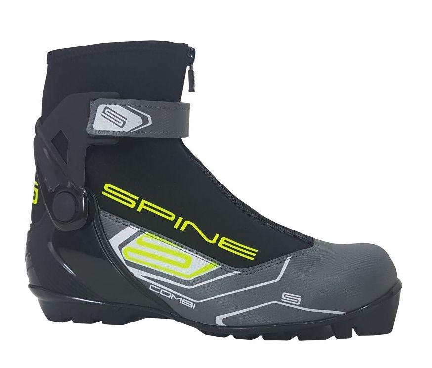 Boty na běžky SKOL SPINE GS Concept COMBI šedé