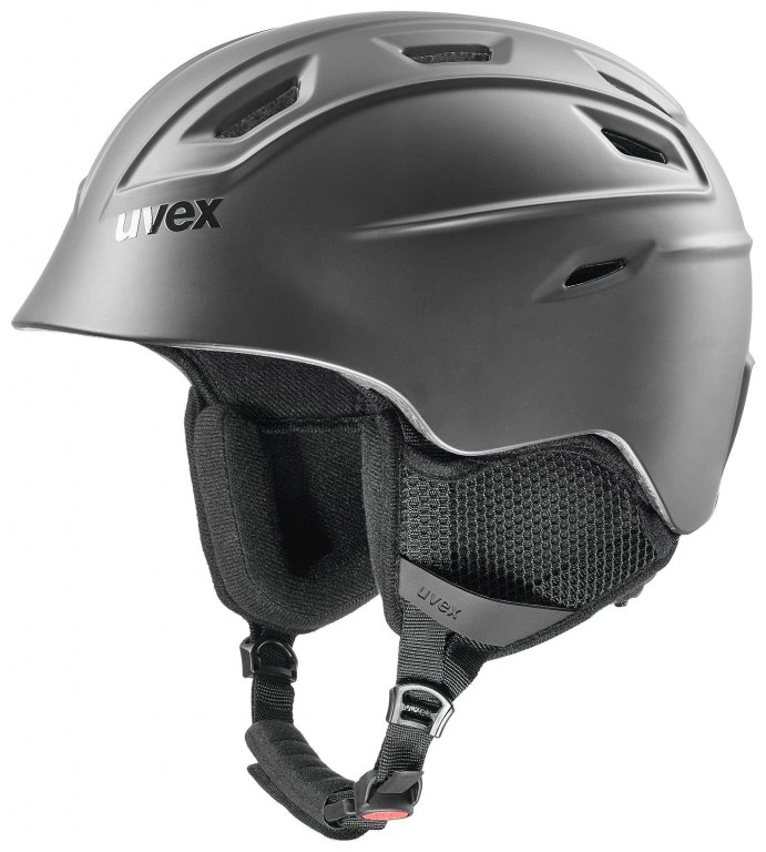 přilba lyžařská UVEX FIERCE černá, 55-59
