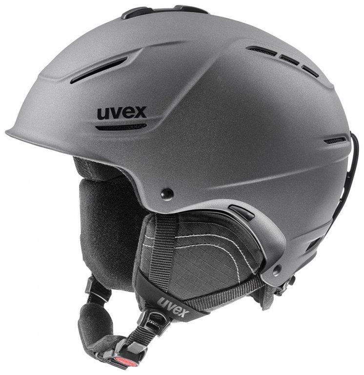 přilba lyžařská UVEX P1US 2.0 šedá, 59-62