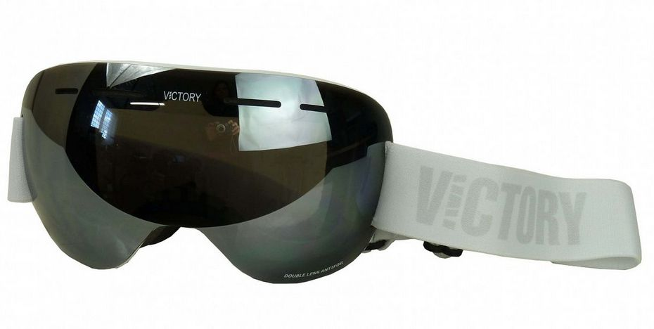 brýle lyžařské Ski/SNB VICTORY V615D bílo/stříbrné