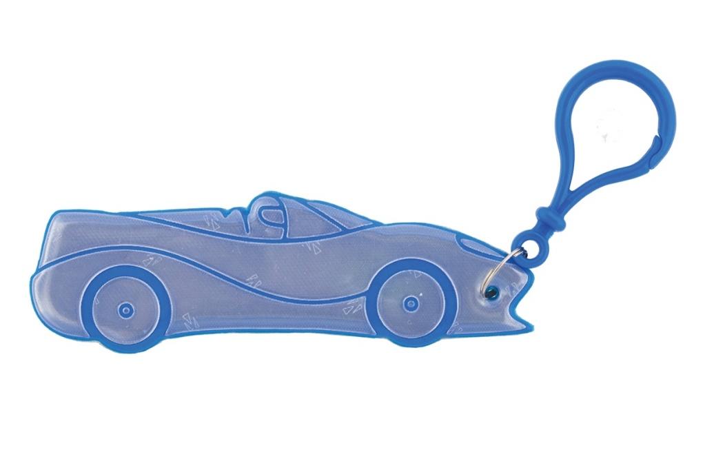 přívěšek reflexní auto modré