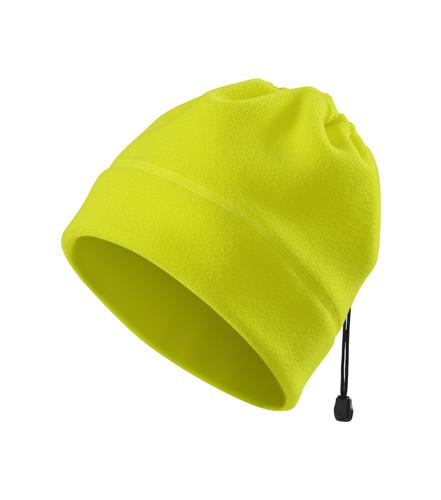 čepice/nákrčník fleece žlutá