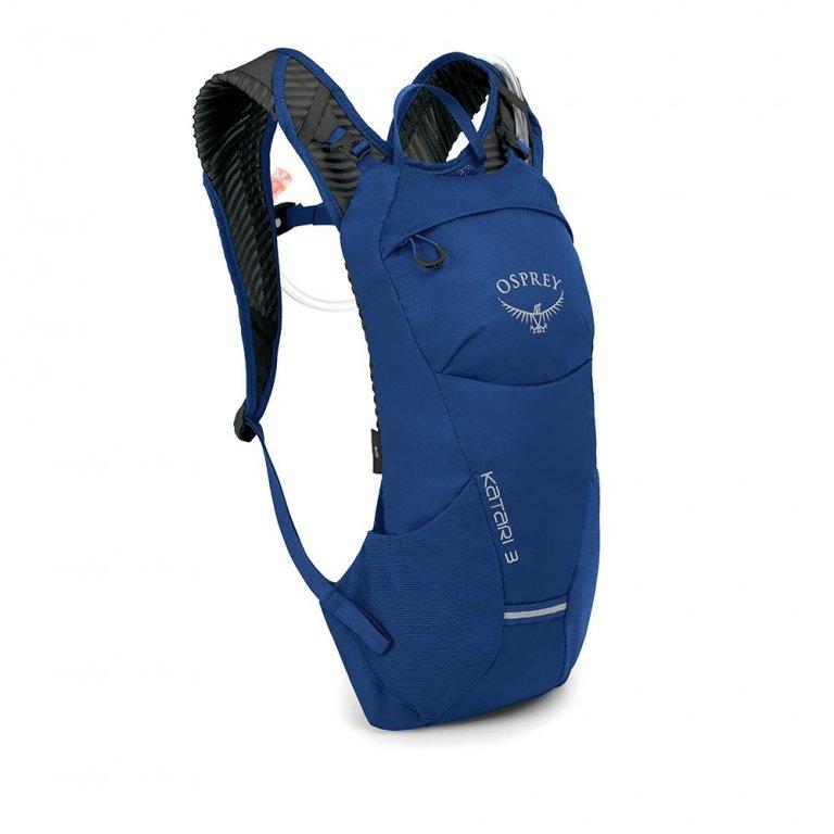 batoh + rezervoár OSPREY KATARI 3 Cobalt Blue
