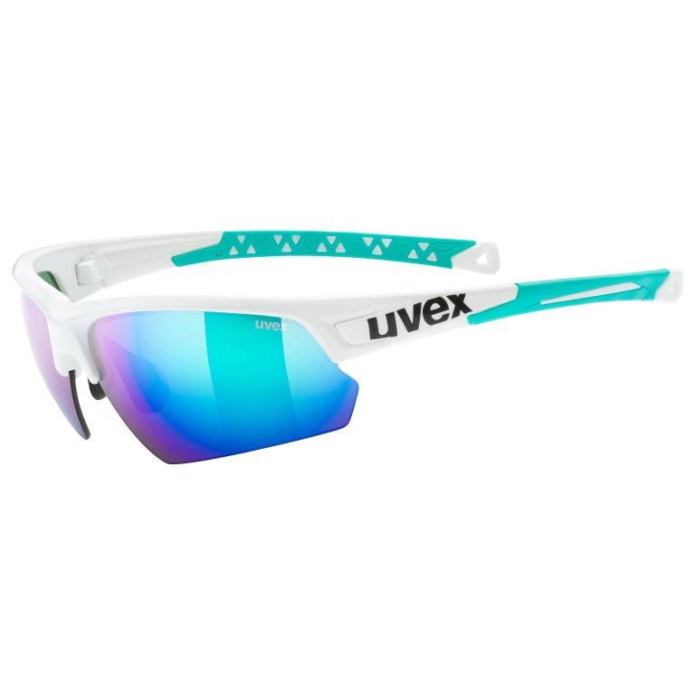 Brýle UVEX Sportstyle 224 bílo/zelené