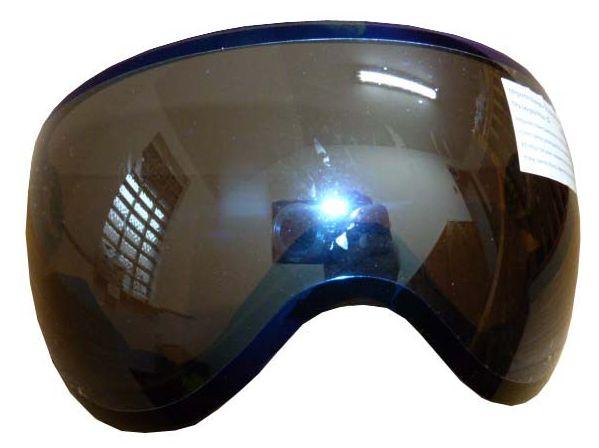 štítek náhradní HAVEN k helmě DOPPIO, modrý