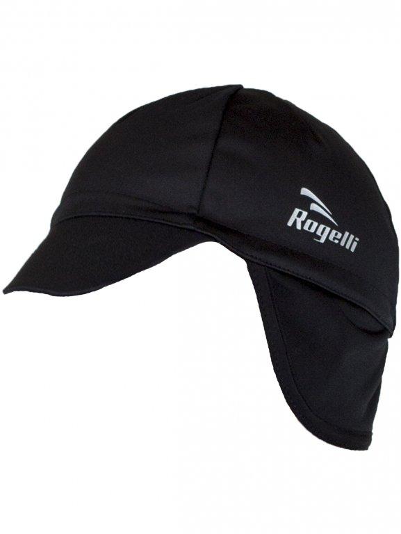 čepice Rogelli PROTTETIVO pod helmu softshell černá