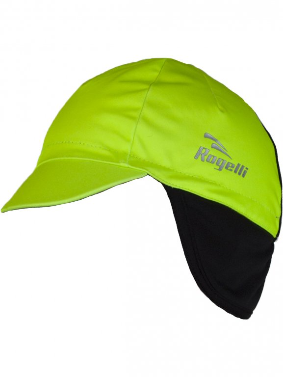 čepice Rogelli PROTTETIVO pod helmu softshell fluoritová