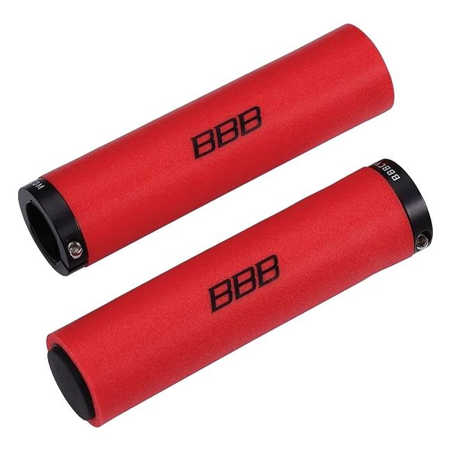 gripy BBB StickyFix 130mm červené