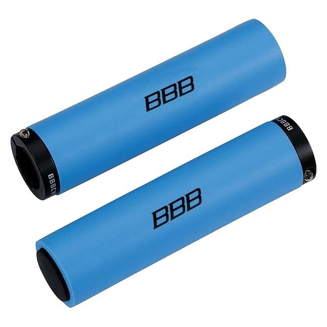 gripy BBB StickyFix 130mm modré
