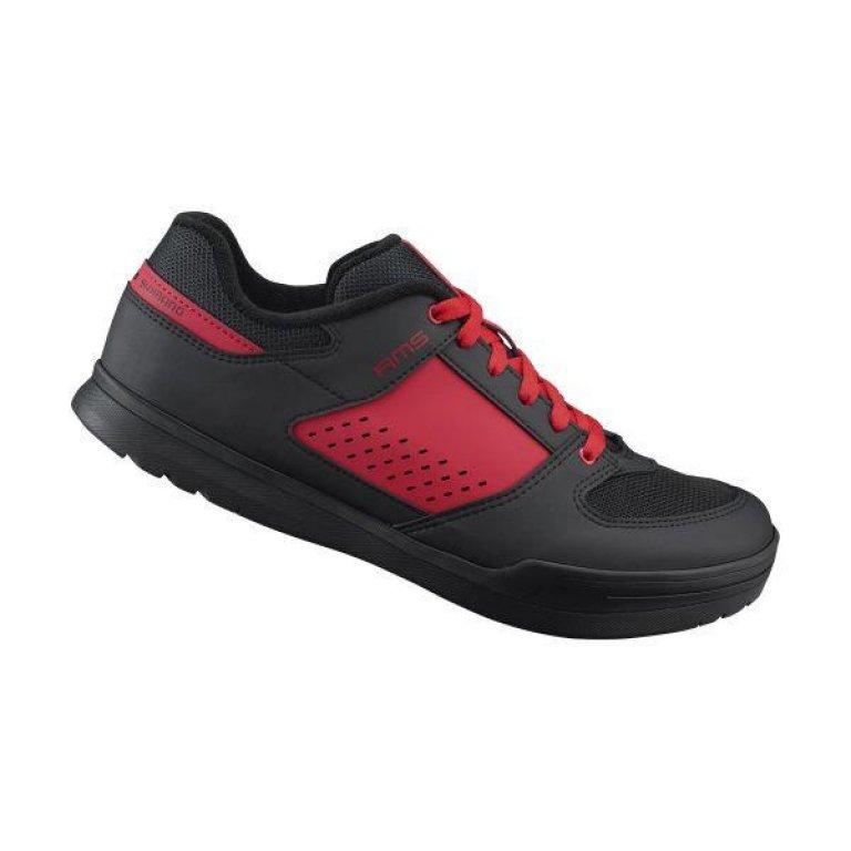 boty Shimano AM5 červené, 42