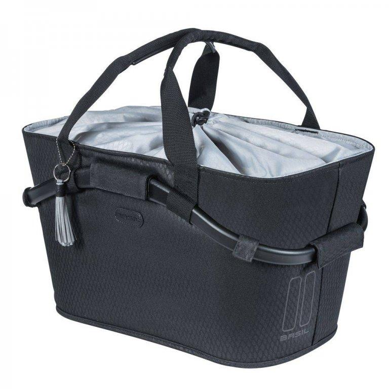 brašna BASIL Carry All černý na nosič MIK systém