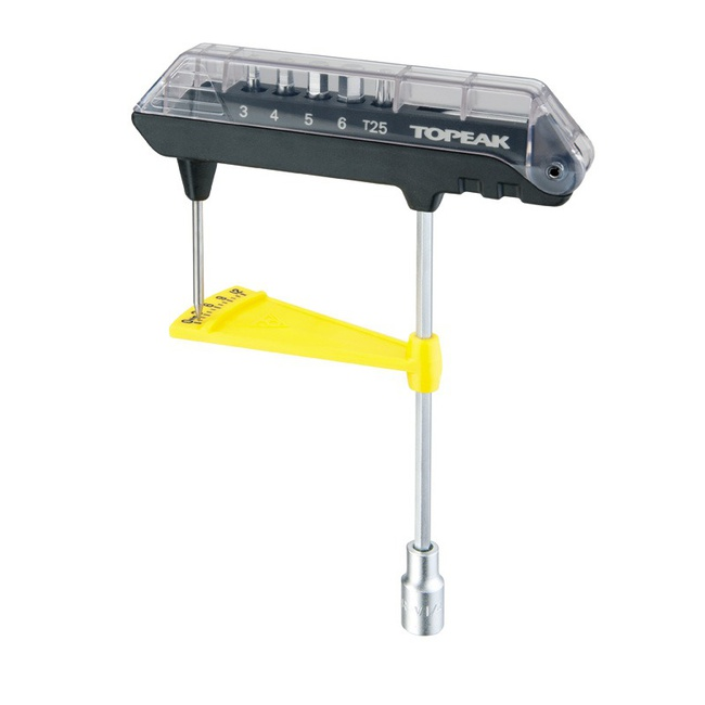 klíče imbus TOPEAK ComboTorQ Wrench+Bit Set