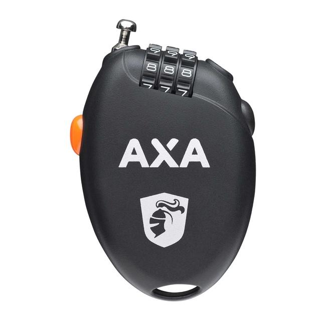 Zámek AXA Roll 75x1, 6mm černý