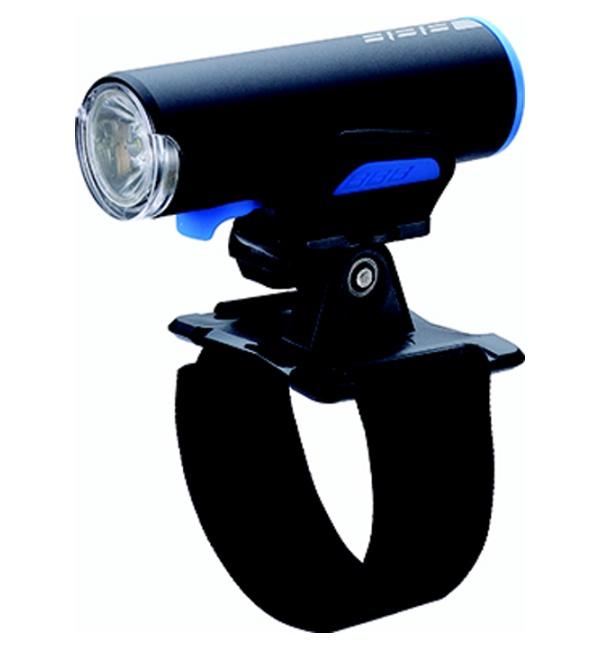 osvětlení přední BBB ScoutCombo nabíjecí USB+držák na helmu