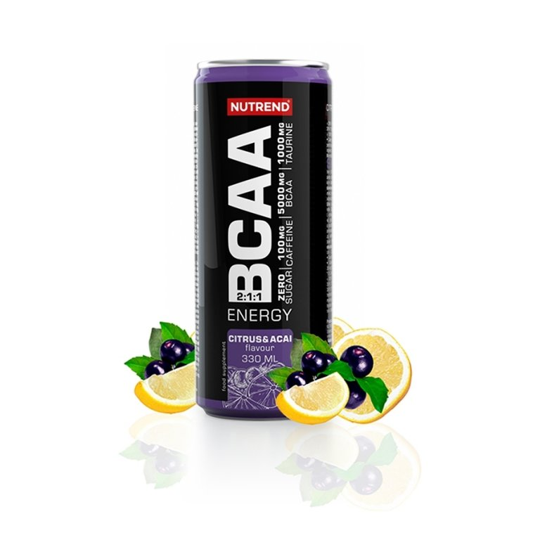 nápoj Nutrend BCAA ENERGY - citrus+acai 330ml
