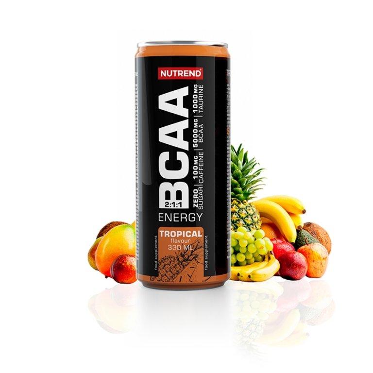 nápoj Nutrend BCAA ENERGY - tropical 330ml