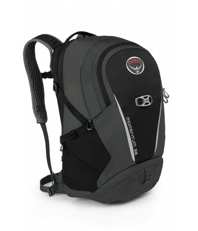 batoh + pláštěnka OSPREY MOMENTUM 32 Black