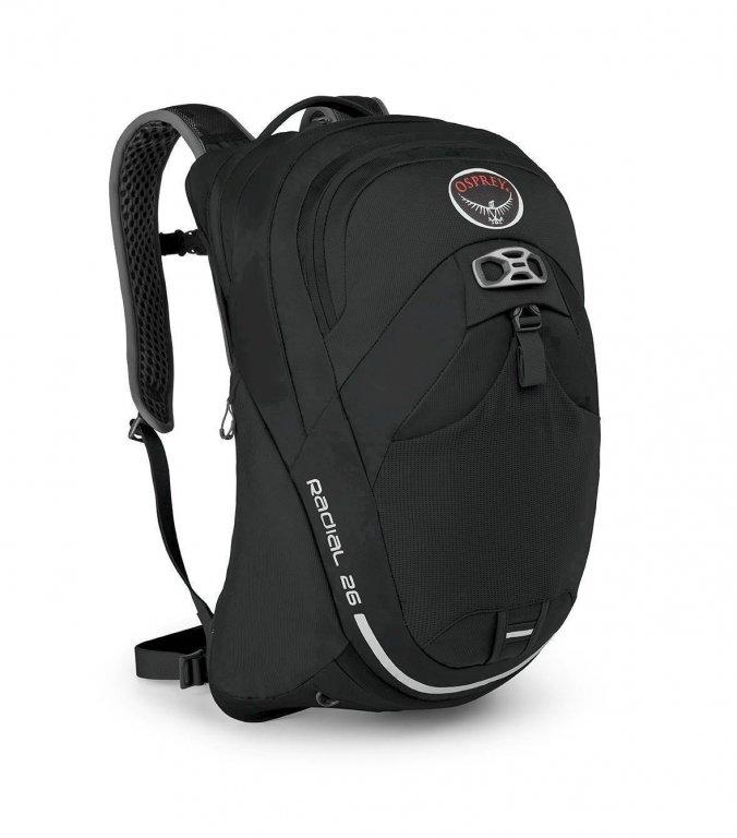 batoh + pláštěnka OSPREY RADIAL 26 Black