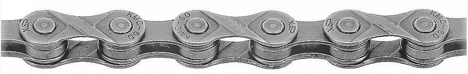 řetěz KMC X9.73 šedý 114čl. servisní balení