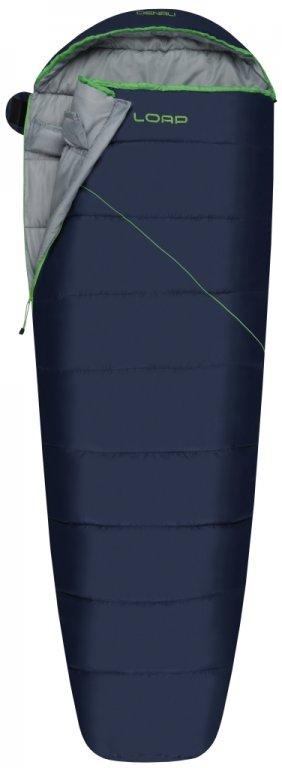 spacák LOAP DENALI modro zelený, levý